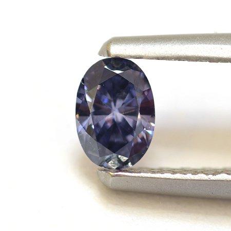 0.17 quilates Fancy Profundo Violetish azul de Argyle del diamante
