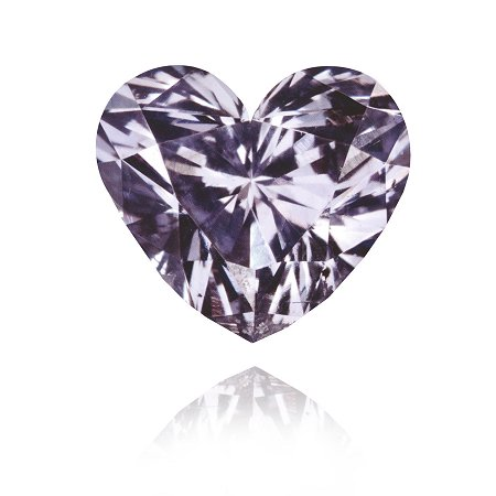 0.33 ct diamante Fancy Gris Violeta