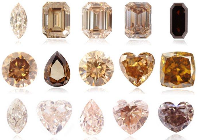 Cognac Diamonds Leibish Amp Co
